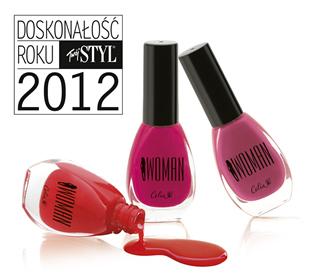 DOSKONAŁOŚĆ ROKU Twój Styl 2012 dla lakierów do paznokci CELIA Woman