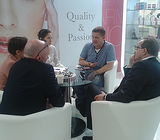 The trade show Cosmoprof Bologna 2014