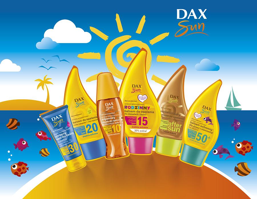 DAX Sun promuje bezpieczne opalanie!