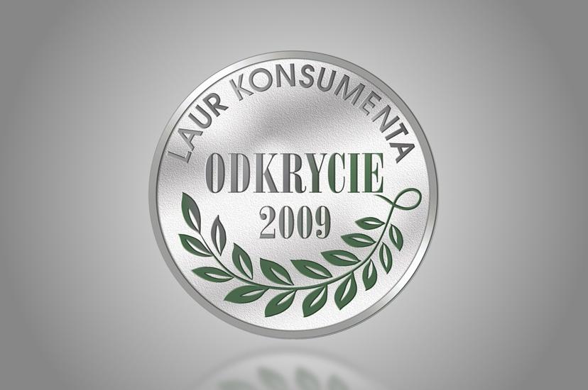 """2009 – """"Odkrycie Roku"""" w konkursie Laur Konsumenta dla serii kolagenowej CELIA"""
