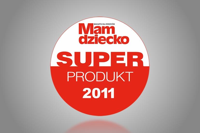 """2011 – Superprodukt """"Mam Dziecko"""" dla żelu pod prysznic z serii PERFECTA Mama"""