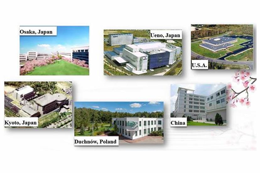Laboratoria badawcze i zakłady produkcyjne Grupy Rohto Pharmaceuticals