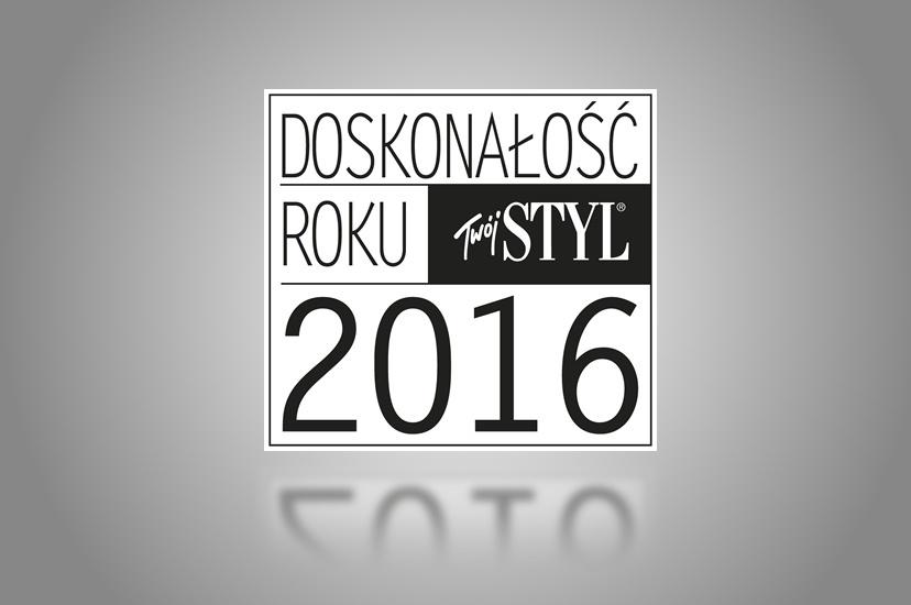 2016 – Doskonałość Roku 2016 Twój Styl dla chronobiologicznego zabiegu wyszczuplająco-wygładzającego z kwasem glikolowym YOSKINE Tsubaki Slim Body w kategorii Pielęgnacja ciała – Kosmetyki polskie