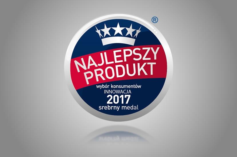 Najlepszy Produkt-Wybór konsumentów-INNOWACJA 2017 – dla serii PERFECTA Fenomen C w kategorii Innowacja